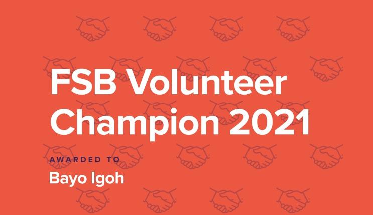 FSB Volunteer Award